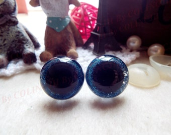5pairs 15mm/18mm Safety eyes Doll eyes Toy eyes Doll Parts Animal eyes Plush eyes Teddy Bears eyes Plastic eyes