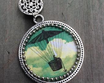 Free Flight Necklace/Retro/Steampunk/Patina/Victorian