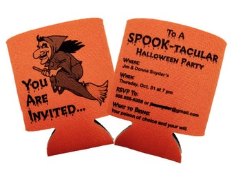 Halloween Party Invitation Cozie