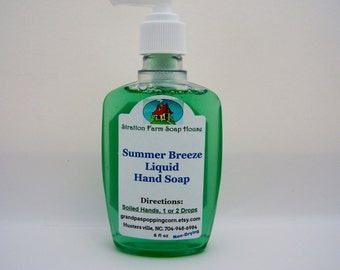 Price drop))  Summer Breeze Liquid Hand Soap, one of our best.