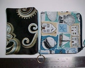 "Purse : My  "" ADD - A - POCKET ""  Purse  Zippered Pockets with Ring for Crossbody Bags and Purses"