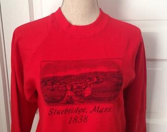 Vintage Sturbridge Massachusetts Sweatshirt