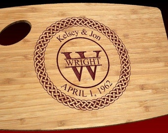 Celtic Knot Personalized Cutting Board-Engraved