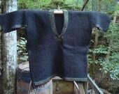 Black Wool Todos Santos Sweater/Jacket