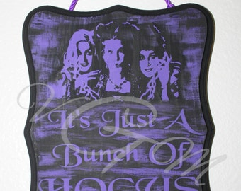 Hocus Pocus/Door/Sign/Halloween