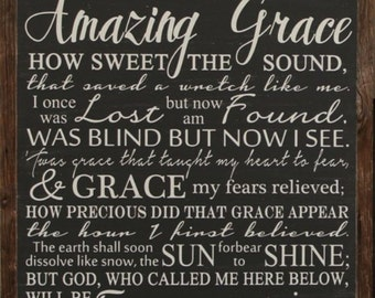 Amazing Grace 26x26