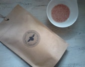 Coconut Cream Bath Salts with pure Vanilla and Geranium oil.100gm