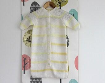 Handmade knit Baby sleeping bag Knit Baby Sleep Sack Baby Sleeping Bag Cocoon Sleep Sack Ready to ship handmade gift