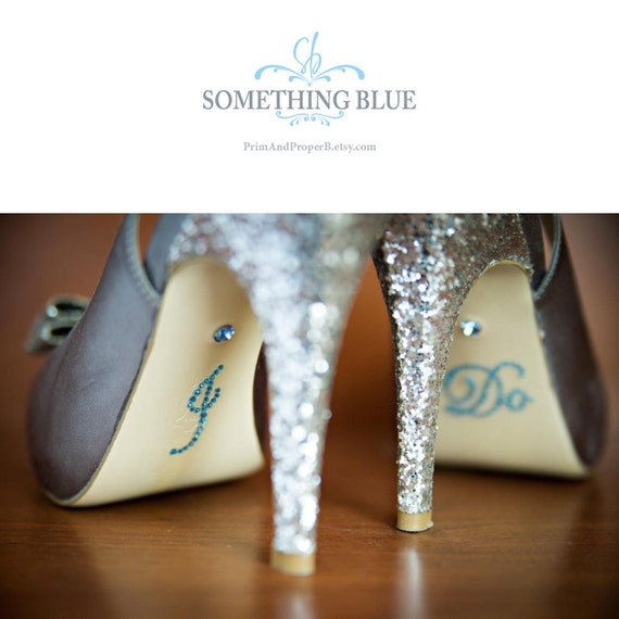 Something Blue, I Do Stickers, I Do Shoe Sticker, I Do Shoe Decal, I Do Stickers for Shoes, Bride Gift, Bridal Shower Gift, Wedding Shoes
