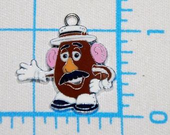 Disney Toy Story Enamel Clip Charms Mr.Potato Head zipper pull, backpack, purse clip, jewelry, dog collar, birthday favors, phones
