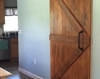 Sliding Barn Door Classic British Brace Custom Barn Door