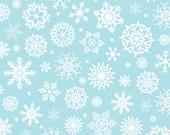 Vinyl Photography Backdrop Floordrop Prop - Snow on Powder Blue