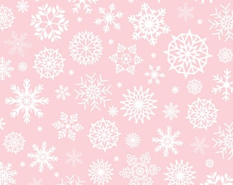 Vinyl Photography Backdrop Floordrop Prop - Snow on Pink