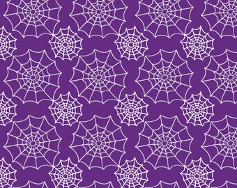 Vinyl Photography Backdrop Floordrop Prop - Webs on Purple