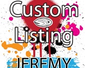 Listing For Jeremy Only