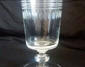 Libbey Rock Sharpe Tea Goblet #2002-3