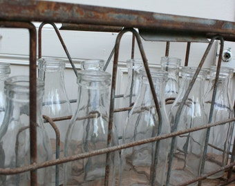 Vintage Milk Bottle Crates