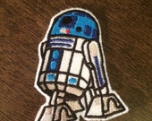 R2D2 -- Star Wars Embroidered Iron-on Patch