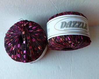 Yarn Sale  - Maroon  90  Dazzle by KFI