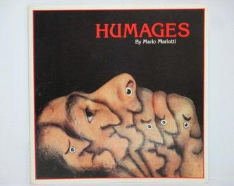 Humages by Mario Mariotti 1985 Vintage Body Art Book
