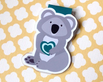 Koala Bear  Magnetic Bookmark