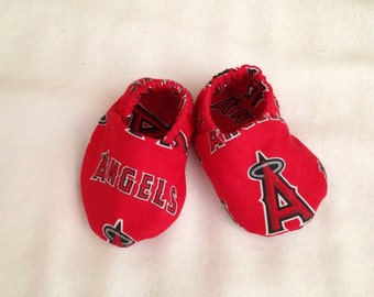 Angeles, sports, crib shoes, slippers, boutique style, newborn, 0-6, 6-9, 9-12, 12-18 months
