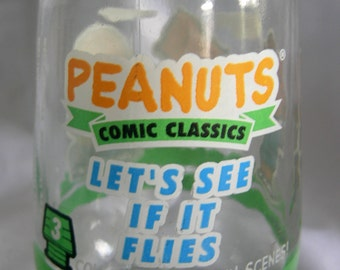 Peanuts Jelly Glass No 3 | Kite Theme | Vintage