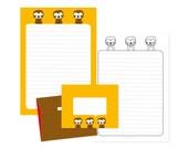 Stationery - Animals Sloth (printable)