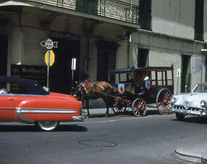 35 mm Slide/Transparency, Red Border Kodachrome, 1950s: New Orleans (15914-37)