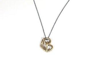 Bronze Bretzel necklace