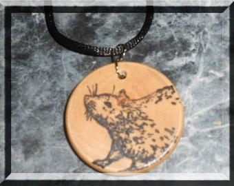 Large Rat Necklace