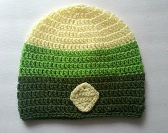 Peridot Inspired Crochet Beanie - Cosplay Hat - Halloween - Steven Universe Inspired