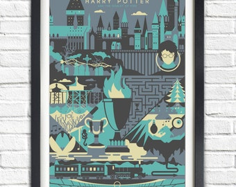 Harry Potter - 4 - The Goblet of Fire - 19x13 Poster