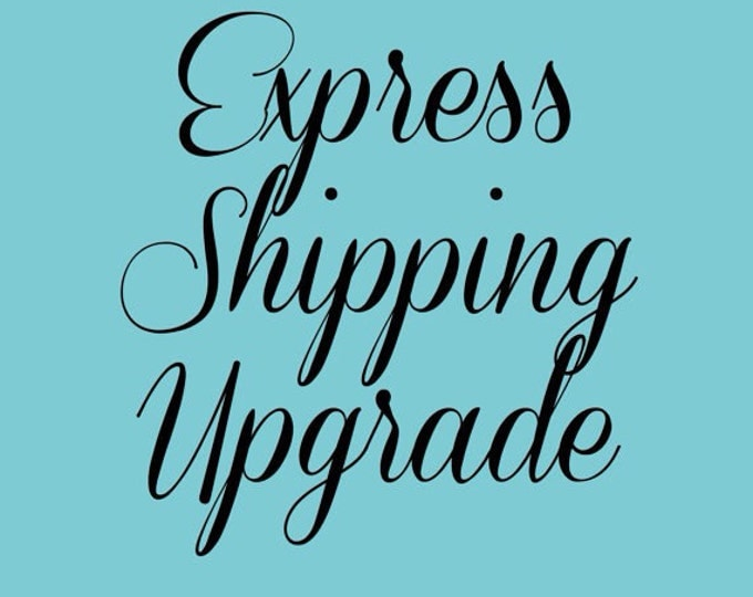 USA Customers express shipping