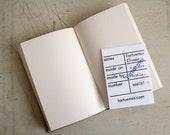 "Hardcover Notebook Tartuensis Classic ""Ponder"""