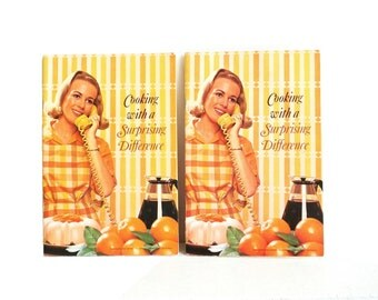 """Vintage Carnation Company """"Cooking With A Suprise Differnce"""" Cookbook Pamphlet"""