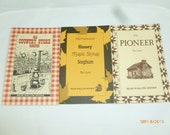 Bear Wallow Books Lot of 3 Old Country Store Recipes Old Pioneer Recipes Old Fashioned Honey Maple Syrup Sorghum Receipes