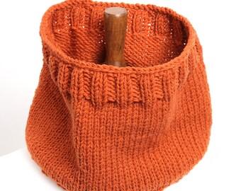 Neck warmer scarf, Chunky warmer handmade knitting cowl, elegant scarf,  Knitting chunky Cowl, men and women soft cowl