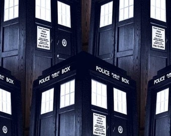 BBC Licensed Dr. Who Packed Tardis in Blue from Springs Creative