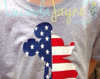 Patriotic Mouse Shirt