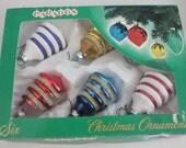 Wonderful paragon ornament set of 6 in an original box