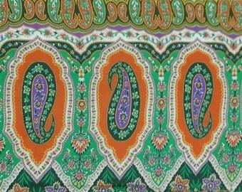 Paisley Cotton Fabric - Fabric Yardage - Sewing