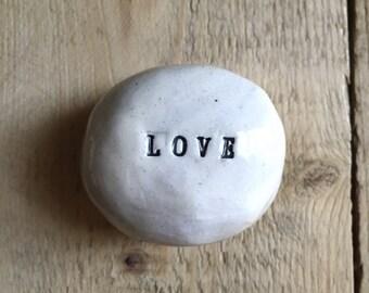 Custom Ceramic Message Stone