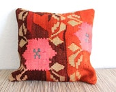 Cumra Vines & Floral Kilim Pillow Cover