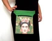 Fanny pack Frida, hip pouch, Hip Bag Waist Bag, bum bag, travel pouch, belt bag.