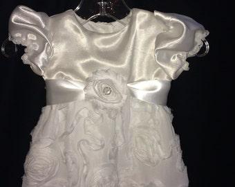 Baby, Infant Girl, Christening, blessing, dress, white