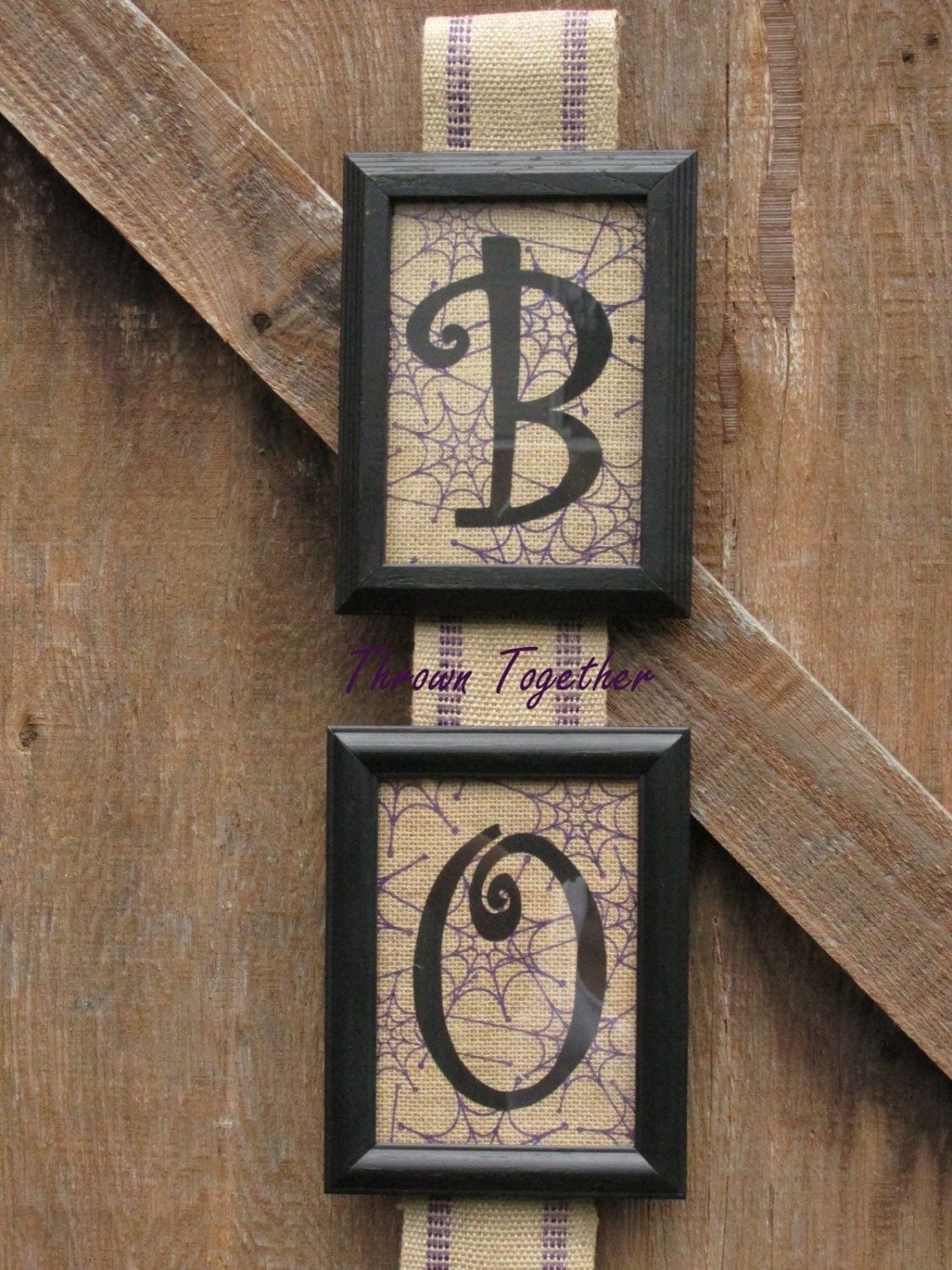halloween gallery wall decor hallowen walljpg  halloween wall hanging framed wall decor black boo purple spiderweb boo decor gallery photo gallery photo