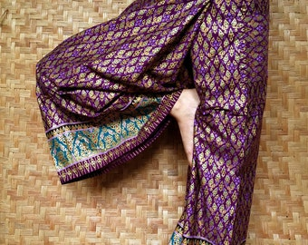 Cotton Thai Pants, Trousers  - Yoga