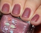 Cheeky Rose - handmade holographic shimmer nail polish
