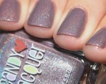 My Favourite Coat - handmade holographic shimmer nail polish